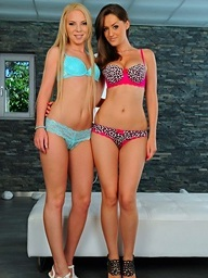Kendra Eminence together with Angie Koks on 21Sextury.Com - Nothing's off-limits