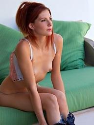 Ashlyn Molloy sluggishly unbuttons her top - Digital Desire