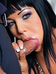 Cigar smoking slut..