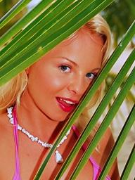 Cute blonde teen Sharka..