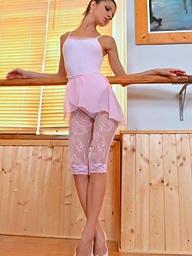 Gina ballet cram footjob