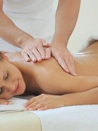 A sensual massage can..