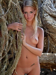 Sexy pics with blonde..